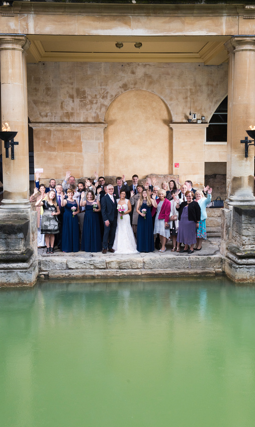 65.Wedding R&J. The Roman Baths.Beata Cosgrove Photography
