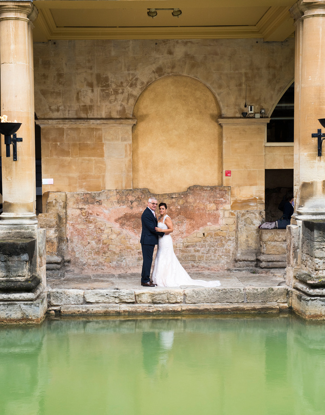 217.Wedding R&J. The Roman Baths.Beata Cosgrove Photography