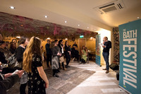 Welcome talk by Ian Stockley.Bath Life. Bath Festivals. Beata Cosgrove Photography