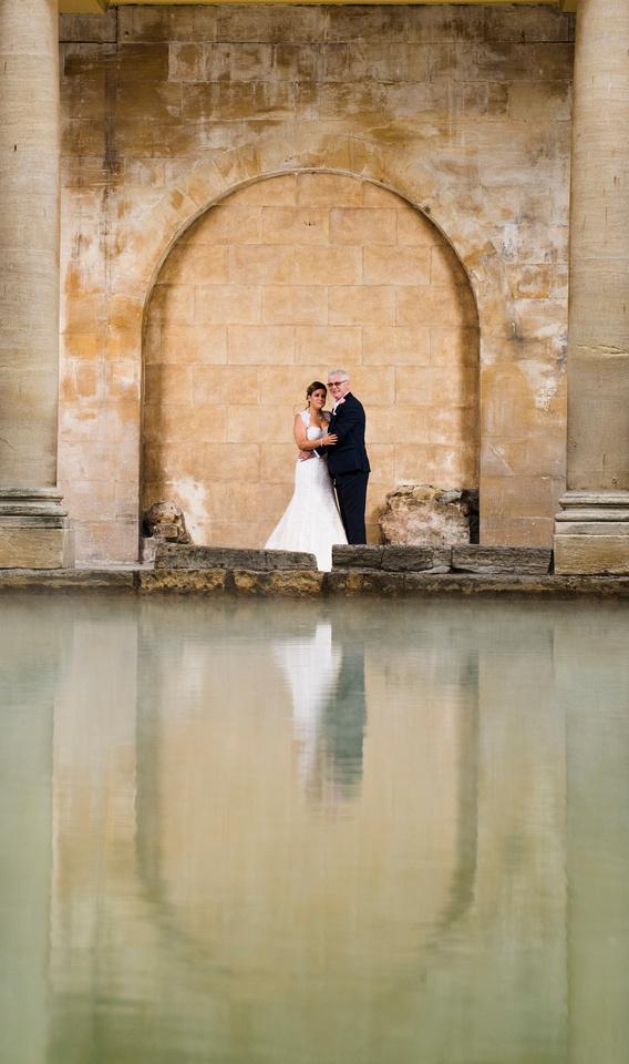 Wedding. The Roman Baths.Beata Cosgrove Photography
