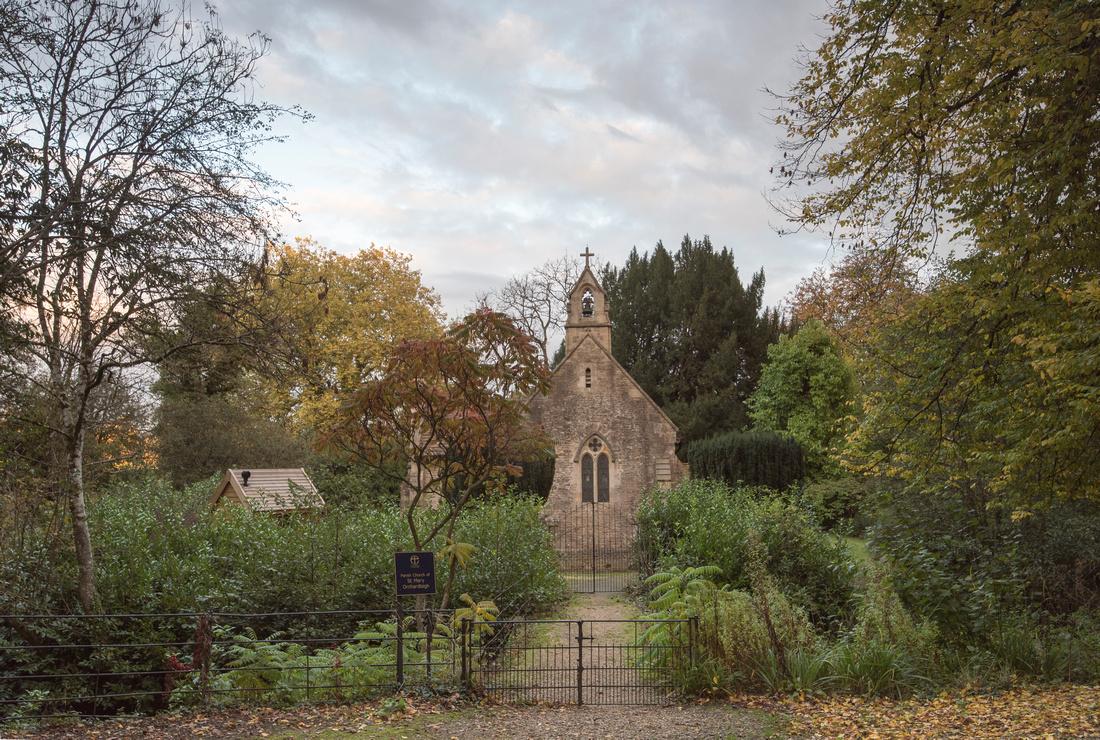 Church. Orchardleigh House. Wedding venue. Beata Cosgrove Photography