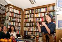 Topping and Company Booksellers of Bath. Olia Hercules. Beata Cosgrove Photography