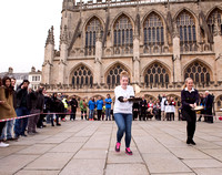 4.Bath's Flippin Pancake race. 9.02.2016. Beata Cosgrove Photography