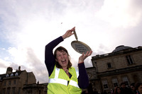 1.Bath's Flippin Pancake race. 9.02.2016. Beata Cosgrove Photography