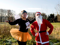 Dorothy House's Charity Santa Fairy run. Bath. Event. Beata Cosgrove Photography