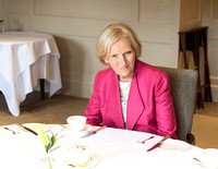 Mary Berry at The Priory Hotel in Bath